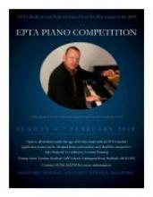 Piano Competition First round Bedford Town   EPTA-UK org